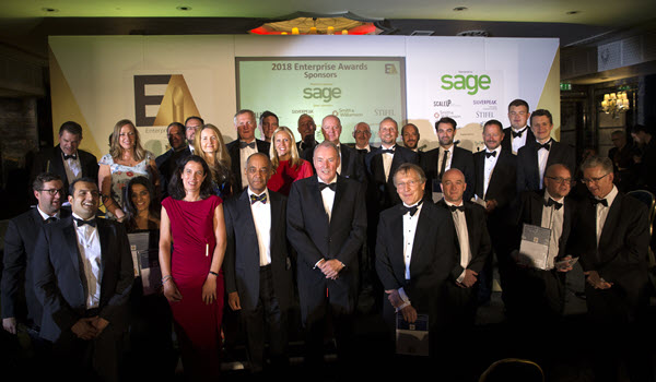 Silverpeak sponsors the 'Oscars of the Technology Industry' hosted by The Information Technologists