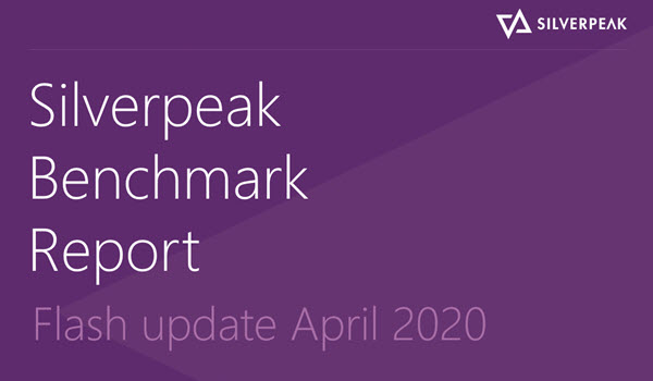 Silverpeak Benchmark Report FLASH APRIL 2020 UPDATE